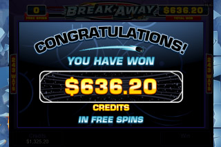 BreakAway Mobile Slot Free Spins
