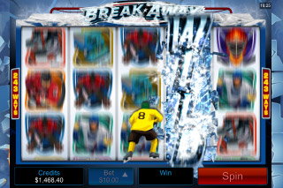 Break Away Mobile Slot Bonus