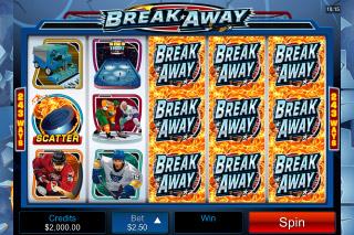 Break Away Mobile Slot Wilds