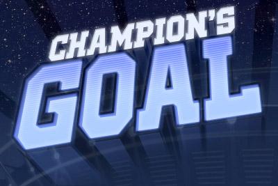 Champions Goal Mobile Slot Logo