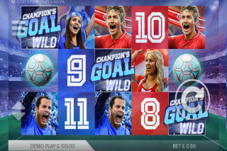 Champions Goal Mobile Slot Reels
