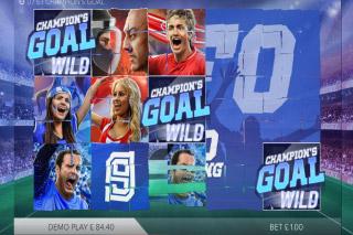 Champions Goal Mobile Slot Bonus