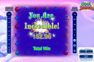 Cool Jewels Free Spins Win