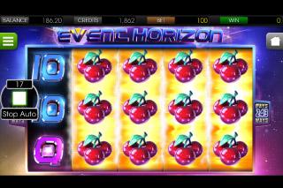 Event Horizon Mobile Slot Joint Reels