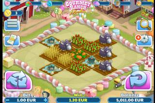 Gourmet Ranch Riches Mobile Slot Screenshot