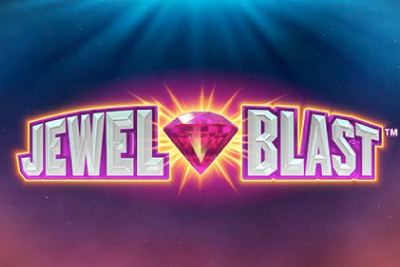 Jewel Blast Mobile Slot Logo