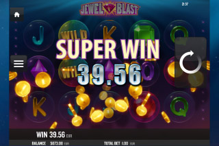 Jewel Blast Mobile Slot Super Win