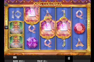 King Colossus Mobile Slot Bonus Symbols