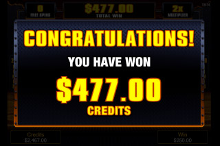 Liquid Gold Mobile Slot Free Spins Win