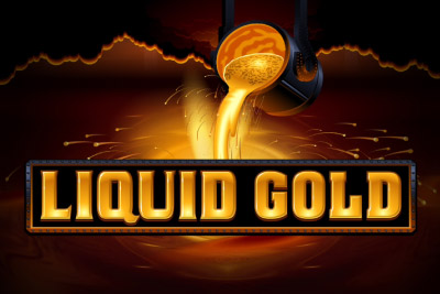 Liquid Gold Mobile Slot Logo
