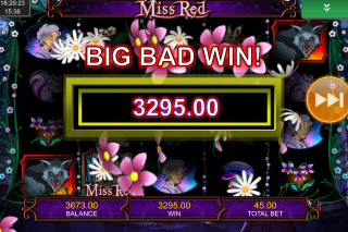 Miss Red Mobile Slot Big Bad Win