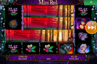 Miss Red Mobile Slot End2End Symbols