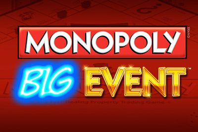 Monopoly Big Event Mobile Slot Logo