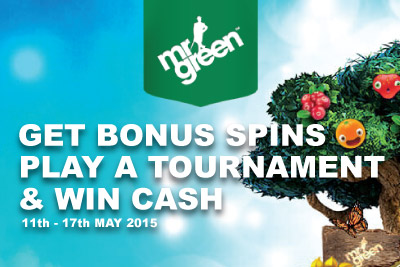 Get Bonus Spins, Play Slot Tourney and Win Cash This Week
