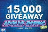 Play Apollo Rising & Win Cash Prizes