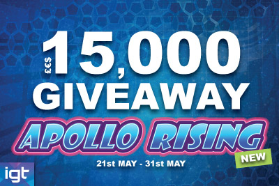 Play Apollo Rising & Win Cash Prizes
