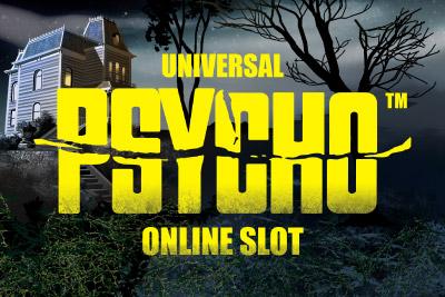 Psycho Mobile Slot Logo