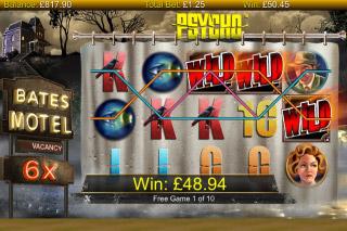 Psycho Slot Free Spins