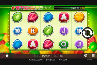 Stickers Mobile Slot Reels