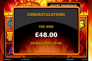 Super Fast Hot Hot Mobile Slot Free Spins Win