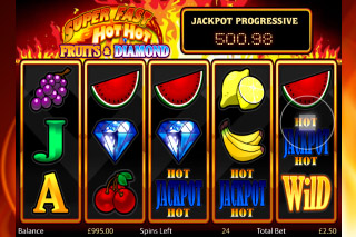 Super Fast Hot Hot Mobile Slot Reels