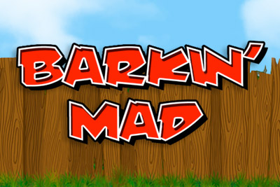 Barkin Mad Mobile Slot Logo
