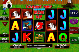 Barkin Mad Mobile Slot Reels