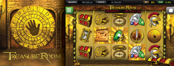 Treasure Room Mobile Slot