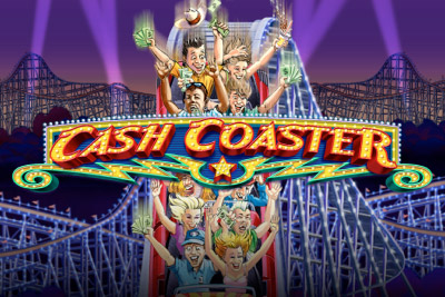 Cash Coaster Mobile Slot Logo
