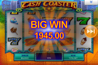 Cash Coaster Mobile Slot Big Win