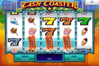 Cash Coaster Mobile Slot Scatters