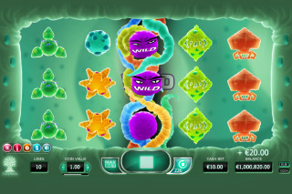 Cyrus The Virus Mobile Slot Wilds