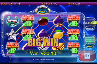 DoublePlay SuperBet Mobile Slot Free Spins Win