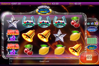 DoublePlay SuperBet Mobile Slot Reels