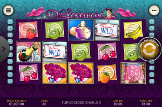 Dr Lovemore Mobile Slot Reels