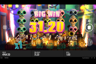 Esqueleto Explosivo Mobile Slot Big Win