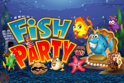 Fish Party Mobile Slot Logo
