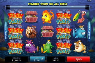 Fish Party Mobile Slot Wilds