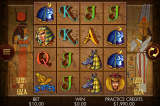 Gods of Giza Mobile Slot Reels