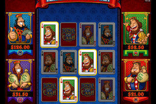 Kings of Cash Mobile Slot Bonus Game
