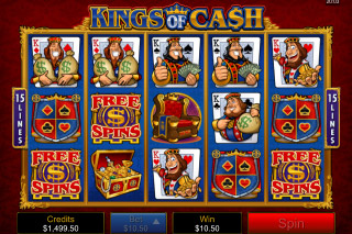 Kings of Cash Free Spins