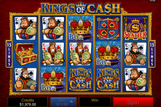 Kings of Cash Mobile Slot Reels