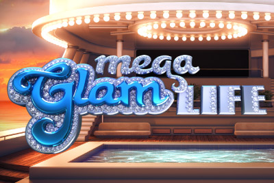 Mega Glam Life Mobile Slot Logo