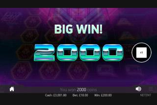 Neon Staxx Mobile Slot Big Win
