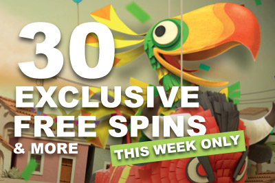 Get Your 30 Free Casino Slot Spins This Week Only