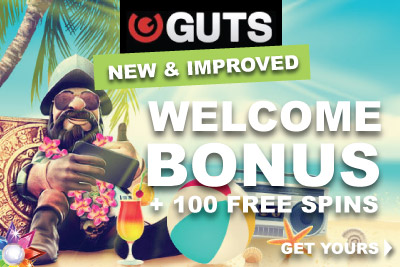 Get Your New Guts Welcome Bonus & Start Playing
