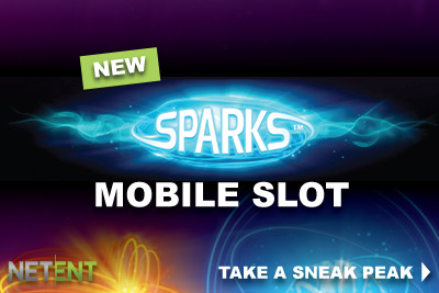 Take A Sneak Peak of the New Sparks NetEnt Slot