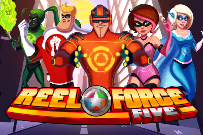 Reel Force 5 Mobile Slot Logo