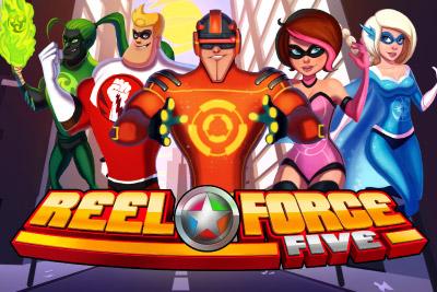Reel Force 5 Mobile Slot Logo