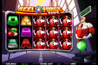 Reel Force 5 Mobile Slot Reels
